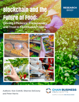 Blockchain and the Future of Food: Driving Efficiency, Transparency and Trust in Food Supply Chains