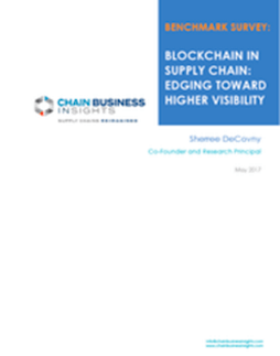 Blockchain in Supply Chain: Edging Toward Higher Visibility