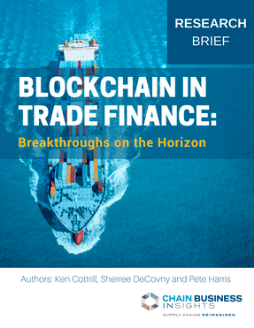 Blockchain in Trade Finance: Breakthroughs on the Horizon